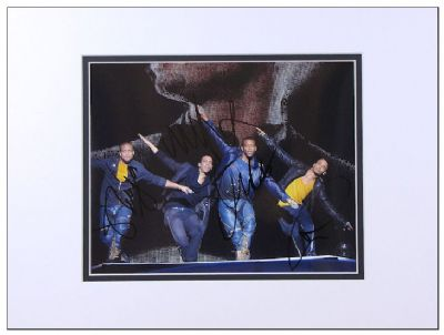 JLS Authentic Autograph Photo Signed For Sale